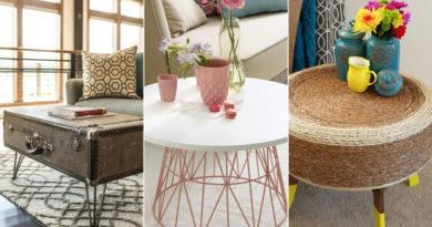 10 praktikus kisasztal a nappaliba: imádni való és olcsó ötletek saját kezűleg