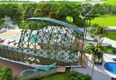 Ez a csodás dominikai ház most a fenntartható építkezés csúcsa