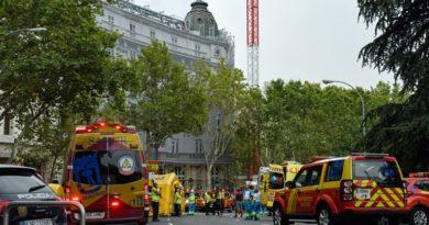 Súlyos baleset történt Madridban