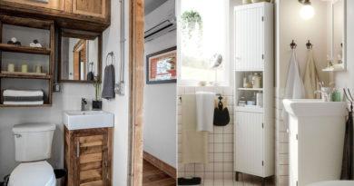 10 praktikus és egyszerű ötlet aprócska fürdőkbe – Több helyet nyersz velük
