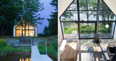 Kívülről csak egy egyszerű faház, de elképesztő, mi van belül: meseszép ez a tóparti ház