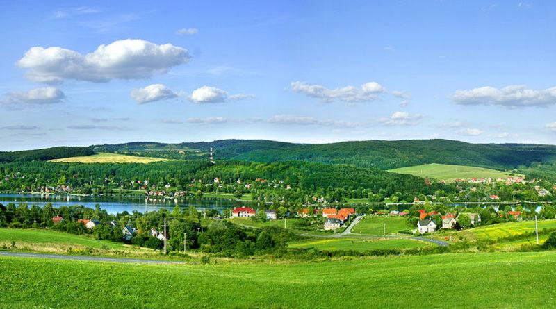Varázslatos vidéken, az Orfűi-tó mellett