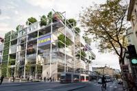 Parkolók helyett sok fának ad majd otthont az IKEA legújabb bécsi épülete