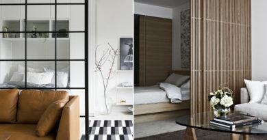 Nappalid és hálód is lehet az egyszobás garzonban: 8 zseniális térelválasztó, ami stílust is teremt
