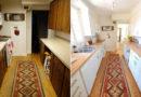 8 hosszú és keskeny konyha, amiből kihozták a maximumot: előtte-utána képeken a látványos változás