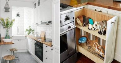8 csodás tipp a panelkonyhába, ami megkétszerezi a rakodóhelyet: a legparányibb helyen is kényelmes lesz a főzés