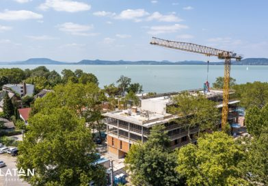 Rekordidő alatt érte el legmagasabb pontját ez a Balaton-parti fejlesztés
