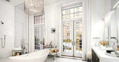 Imádjuk Jennifer Lopez hófehér, csillogó fürdőszobáját: jó ideje piacra dobta New York-i lakását