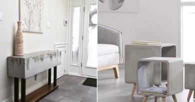 Meglepően jól néz ki, pedig betonból készült: beltéri dizájnholmik, amik egyszerűen gyönyörűek